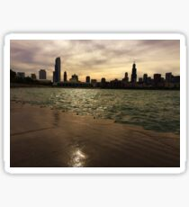Chicago Skyline Sticker