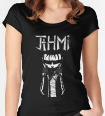 johnny the homicidal maniac jthm Women's Fitted Scoop T-Shirt