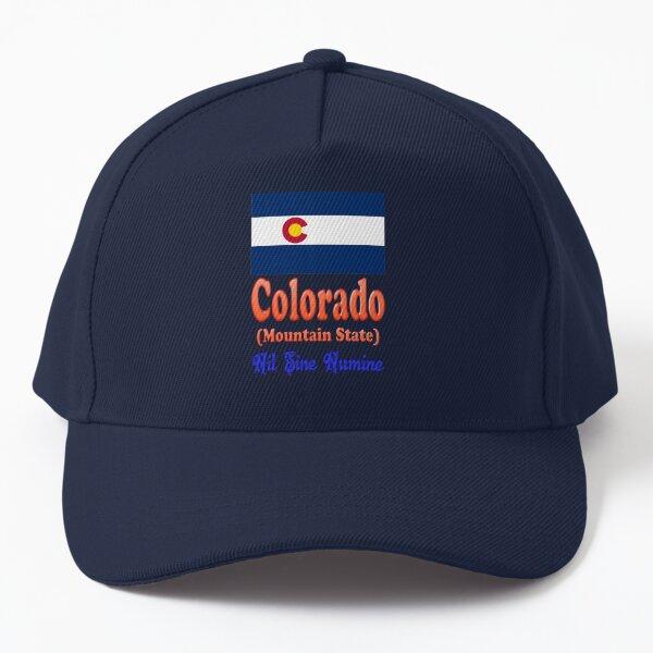 Colorado Сolor print  Baseball Cap