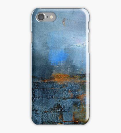 blue cloud iPhone Case/Skin