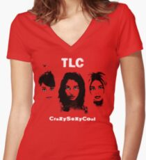 TLC CrazySexyCool Women's Fitted V-Neck T-Shirt