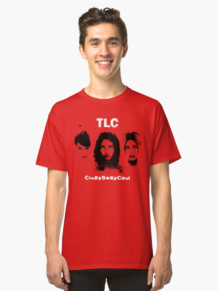 TLC CrazySexyCool Classic T-Shirt Front