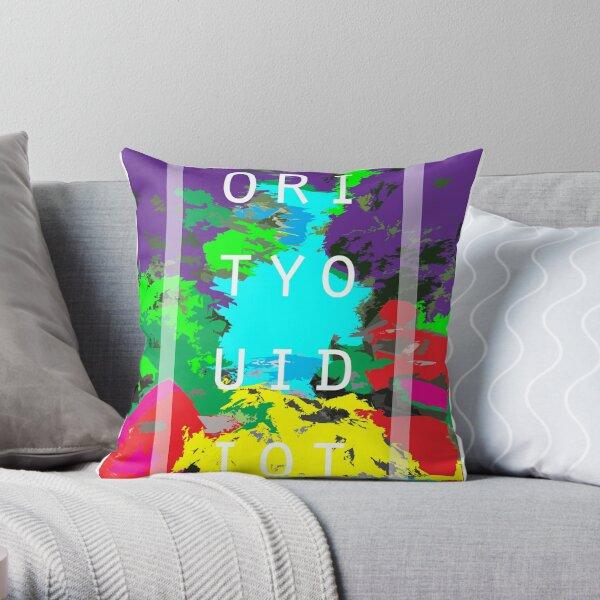 """""""GOFORITYOUIDIOT"""" Throw Pillow"""