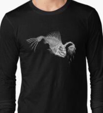 CREEPY FISH - Art By Kev G Long Sleeve T-Shirt
