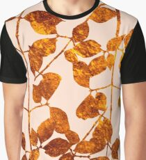 fall golden leaves Graphic T-Shirt