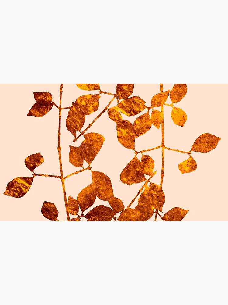 fall golden leaves by clemfloral