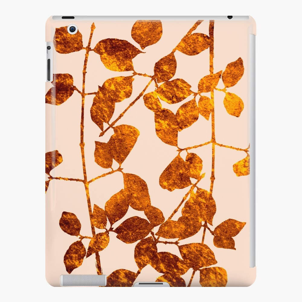 fall golden leaves iPad Case & Skin