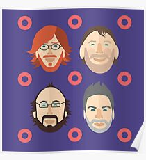 Phish with Fishman Donuts  Poster