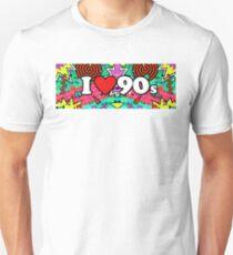 I Love The 90's Vintage Retro Music T-Shirt Unisex T-Shirt