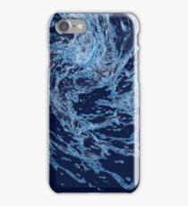 Blue water drops iPhone Case/Skin