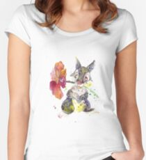 Thumper. Women's Fitted Scoop T-Shirt