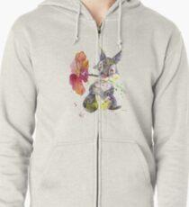 Thumper. Zipped Hoodie
