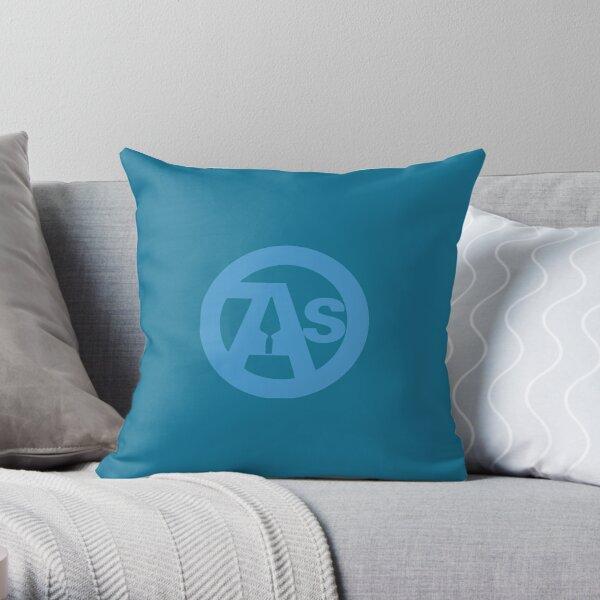 OAS Blue Logo Throw Pillow