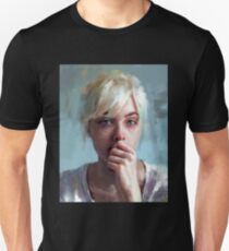 crying portrait T-Shirt