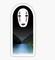 No Face- Spirited Away Sticker