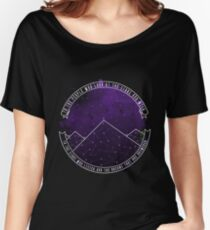 Look At The Stars And Wish | Night Court Women's Relaxed Fit T-Shirt