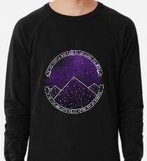 Look At The Stars And Wish | Night Court Lightweight Sweatshirt