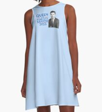 Queen For Star City Mayor 2016 - Oliver Queen Edition A-Line Dress