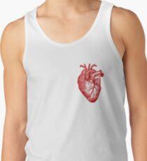 Vintage Heart Anatomy Tank Top