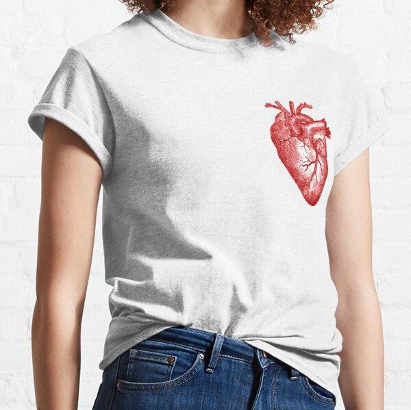 Vintage Heart Anatomy Classic T-Shirt