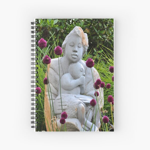 Flowers for Mother Spiral Notebook