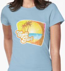Cali Girl Womens Fitted T-Shirt