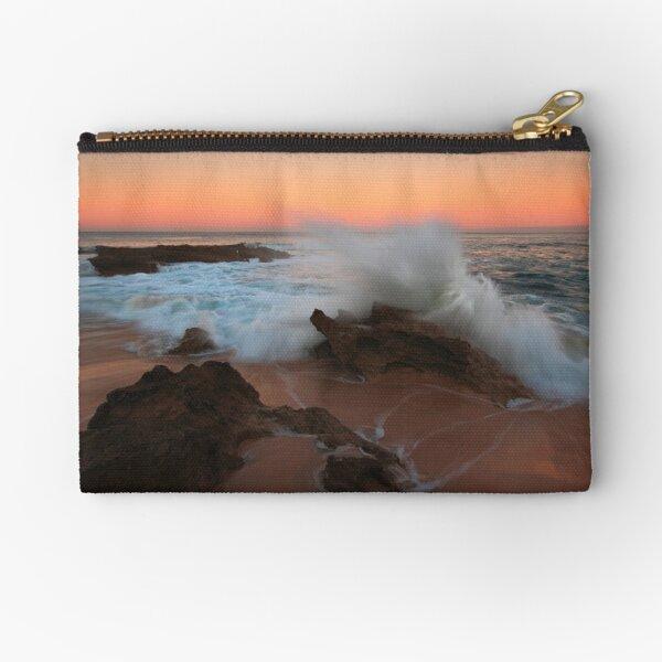 A Splash of Dawn - Koonya Beach Blairgowrie Zipper Pouch
