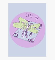 Call Me Ouija Board Photographic Print