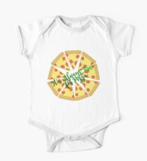 It's Always Time for Pizza :) One Piece - Short Sleeve