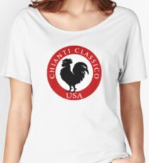 Black Rooster USA Chianti Classico  Women's Relaxed Fit T-Shirt