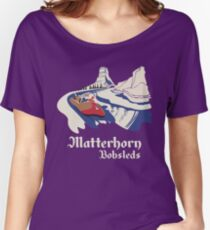 Matterhorn Bobsleds Women's Relaxed Fit T-Shirt