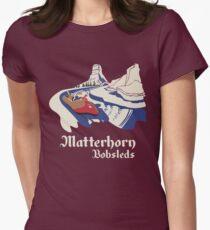 Matterhorn Bobsleds Women's Fitted T-Shirt