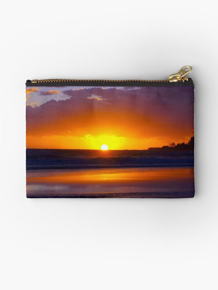 Bilinga Beach Sunrise 2 by W E NIXON  PHOTOGRAPHY