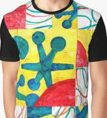 Fractured Jacks Graphic T-Shirt