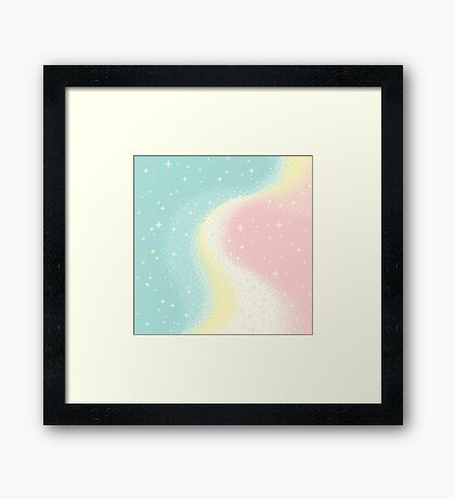 Pearl Universe Framed Print