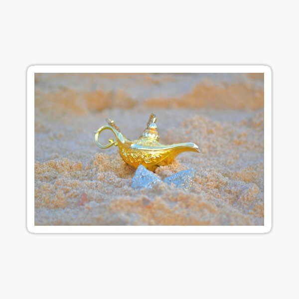 Aladdin's lamp Sticker