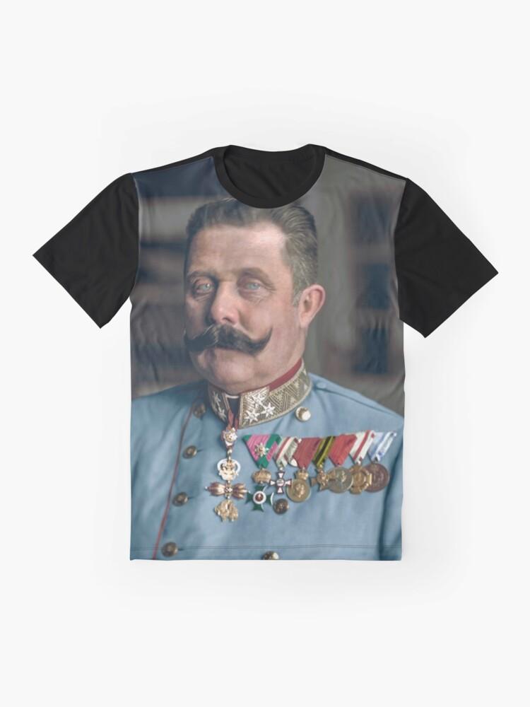 Alternative Ansicht von Erzherzog Franz Ferdinand von Österreich Grafik T-Shirt