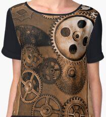 Steampunk Gears Women's Chiffon Top