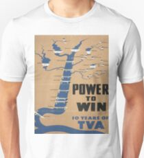 Vintage poster - Tennessee Valley Authority Unisex T-Shirt