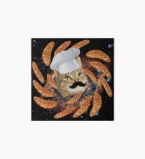 Chef Cat Art Board Print