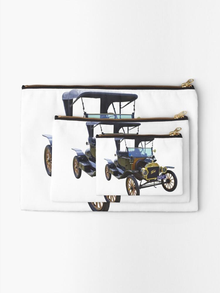 Alternative Ansicht von 1914 Model T Ford Antique Car Täschchen