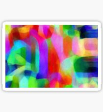 Shades Of Colours Sticker