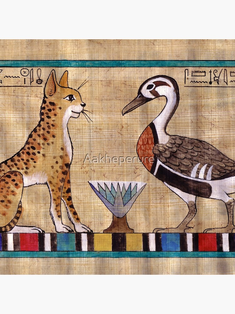 Mut and Amun: Spirit Animals by Aakheperure