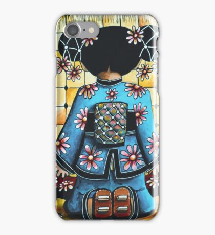 Asia Blue iPhone Case/Skin