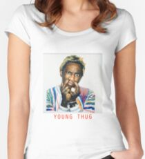 Young  Women's Fitted Scoop T-Shirt