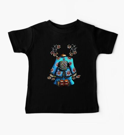 Asia Blue on Black TShirt by Karin Taylor Kids Clothes