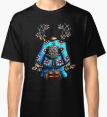 Asia Blue on Black TShirt by Karin Taylor Classic T-Shirt