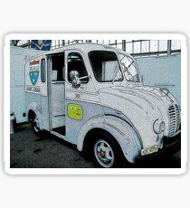 Milk Truck Sticker
