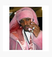 Cam'ron Pink Photographic Print