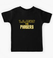 Lasers VS Phasers Kids Clothes